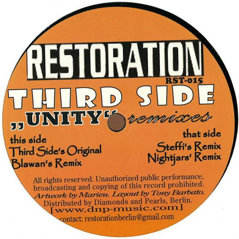 Third Side - Unity Remixes