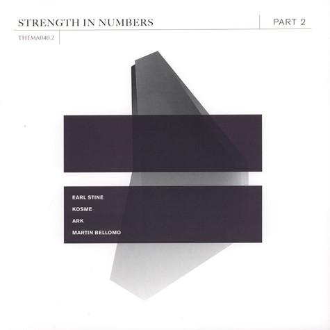 V.A. - Strength In Numbers Part 2 Clear Vinyl Edition
