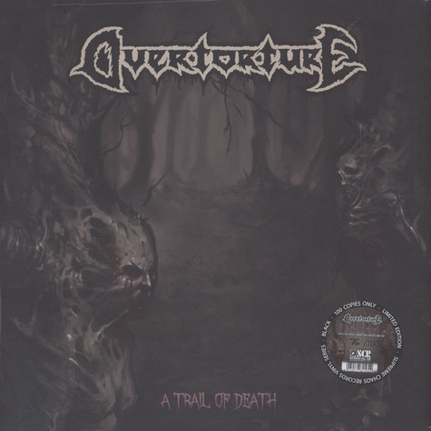 Overtorture - A Trail Of Death Black Vinyl Edition
