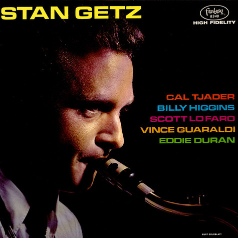 Stan Getz With Cal Tjader - Stan Getz With Cal Tjader