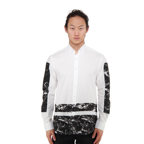 A Question Of - Marble Boxes Oxford Shirt