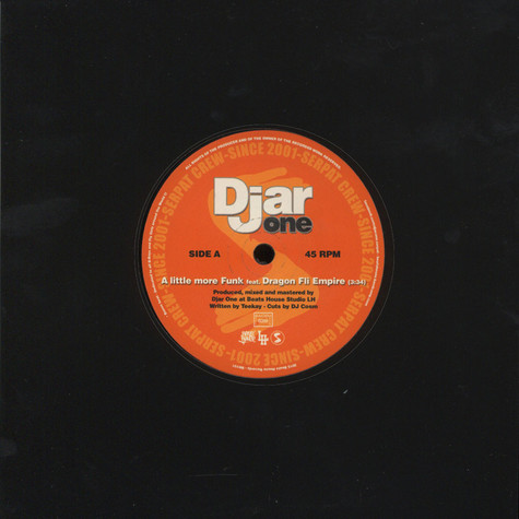 Djar One - A Little More Funk Feat. Dragon Fli Empire