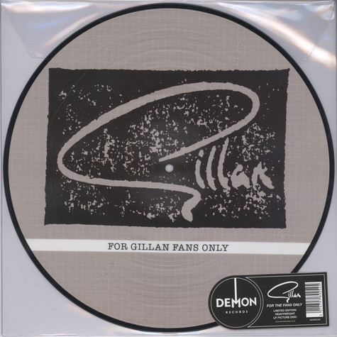 Gillan - For Gillan Fans Only Picture Disc