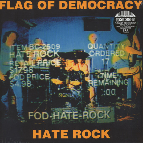 Flag Of Democracy - Hate Rock