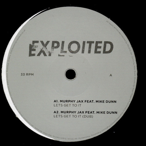 Murphy Jax Featuring Mike Dunn - Lets Get To It