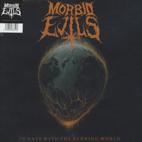 Morbid Evils - In Hate With The Burning World Black Vinyl Edition