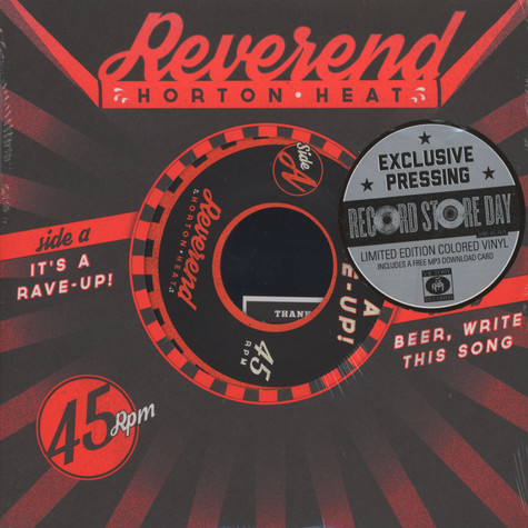 Reverend Horton Heat - It's A Rave Up / Beer, Write This Song