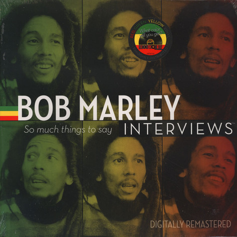 Bob Marley - Bob Marley Interviews: So Much Things To Say