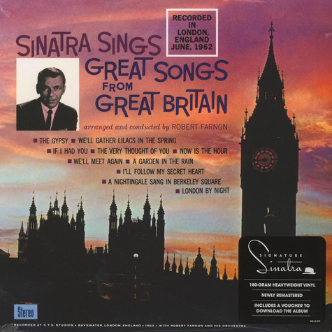 Frank Sinatra - Great Songs From Great Britain