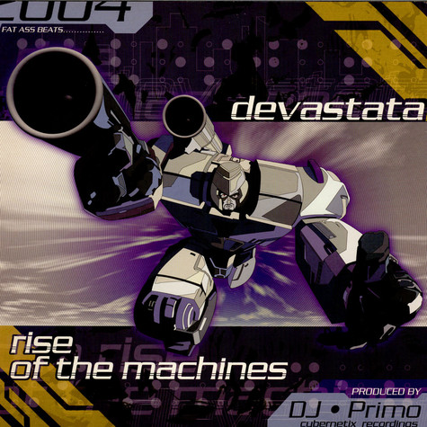 DJ Primo - Devastata / Rise Of The Machines