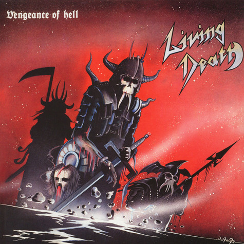 Living Death - Vengeance Of Hell Colored Vinyl Edition