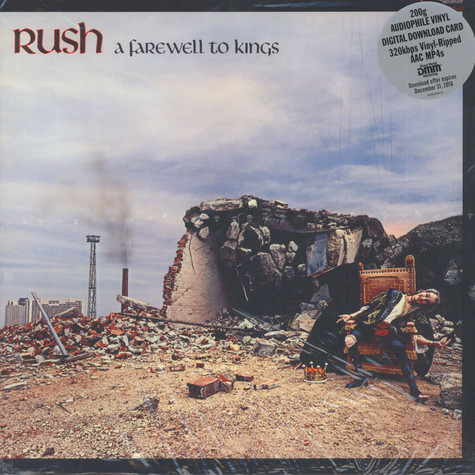 Rush - Farewell To Kings