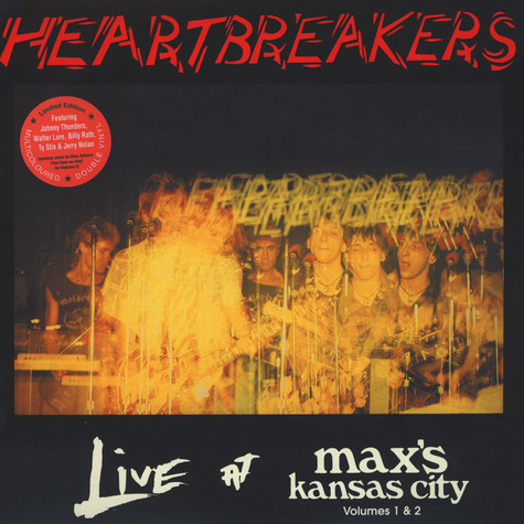 Heartbreakers - Live At Max's Kansas City Volume 1 & 2
