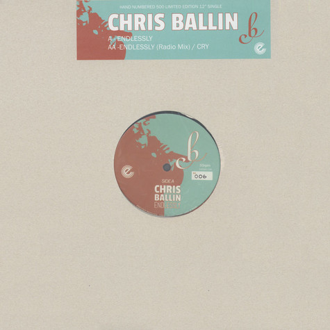 Chris Ballin - Endlessly / Cry