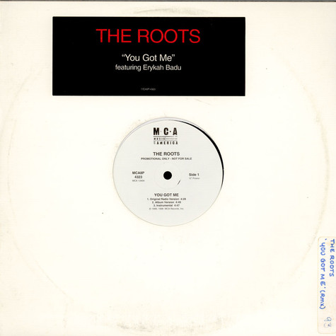 Roots, The Featuring Erykah Badu - You Got Me