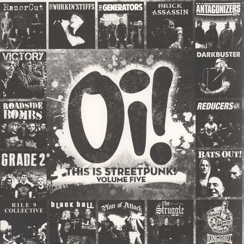 V.A. - Oi! This Is Streetpunk! Volume Five