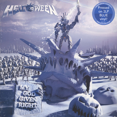 Helloween - My God Given Right Blue Vinyl Edition