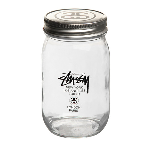 Stüssy - World Tour Mason Jar