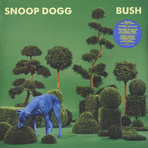 Snoop Dogg - Bush Blue Vinyl Edition