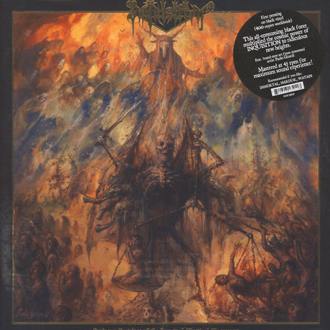 Inquisition - Ominous Doctrines Of The Perpetual … Black Vinyl Edition