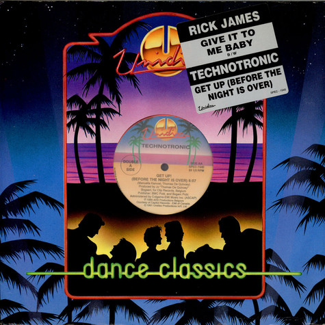 Rick James / Technotronic - Give It To Me Baby / Get Up (Before The Night Is Over)