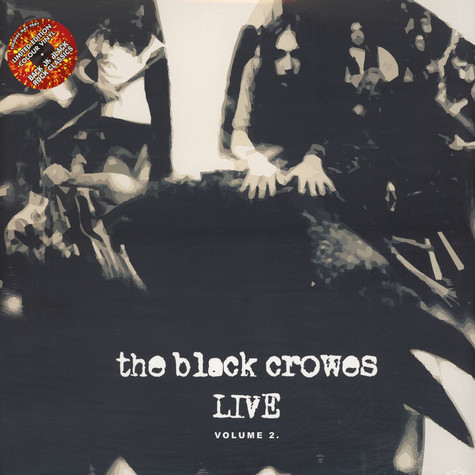 Black Crowes, The - Live - Volume 2 Colored Vinyl Edition