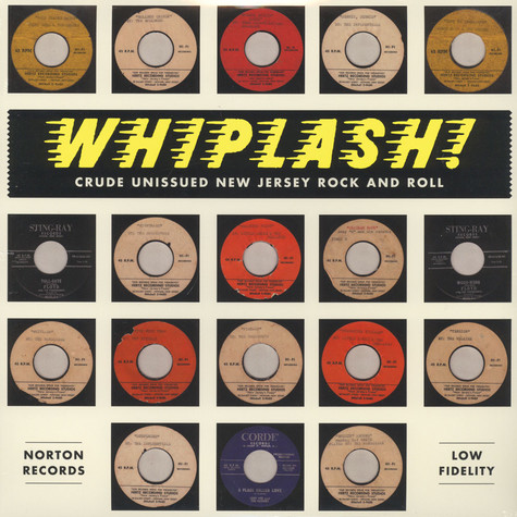 V.A. - Whiplash: Crude Unissued New Jersey Rock And Roll