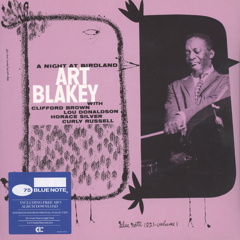 Art Blakey Quintet - A Night At Birdland Volume 1 Back To Blue Edition