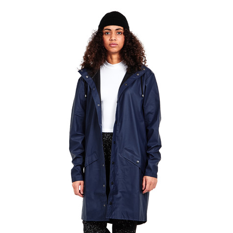 RAINS - Women's Long Jacket (Blue) | hhv.de