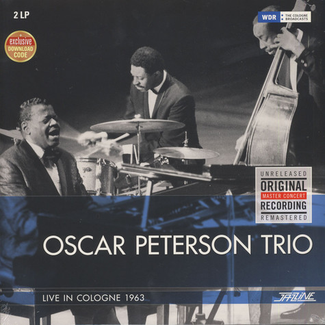 Oscar Peterson Trio - Live In Cologne 1963