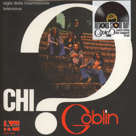 Goblin - Chi? Clear Vinyl Edition