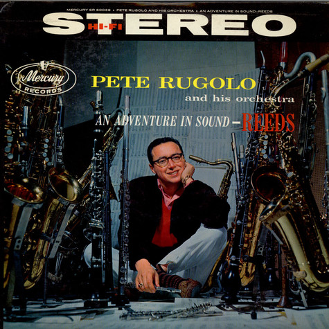 Pete Rugolo Orchestra - An Adventure In Sound-Reeds