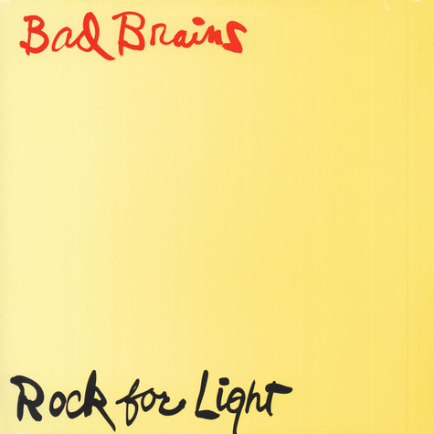 Bad Brains Rock For Light Vinyl Lp 1983 Us