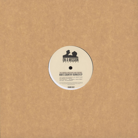 Groove Brothers, The And Friends - Bob's Country Bunker EP