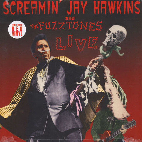 Screamin Jay Hawkins & The Fuzztones - Live