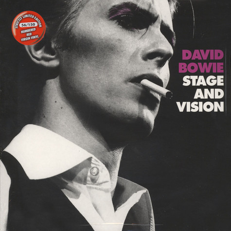 David Bowie - Stage And Vision Red Vinyl Edition