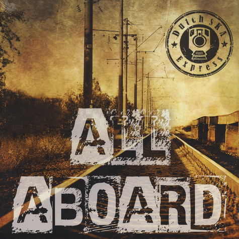 Dutch Ska Express - All Aboard Black Vinyl Edition