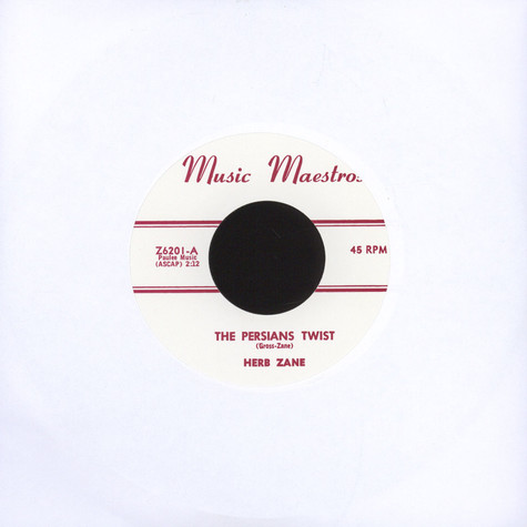 Herb Zane - The Persians Twist /  Twistin' At The Pit