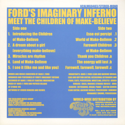 Ford's Imaginary Inferno - Meet The Children Of Make-believe