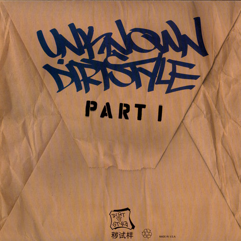 Unknown Artist - Unknown Dirtstyle Part 1