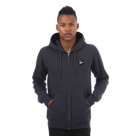 Parra - Vest Circle Patch Zip-Up Hoodie