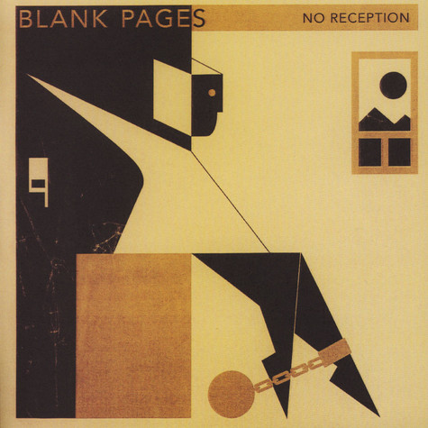 Blank Pages - No Reception B/w Golden Chains