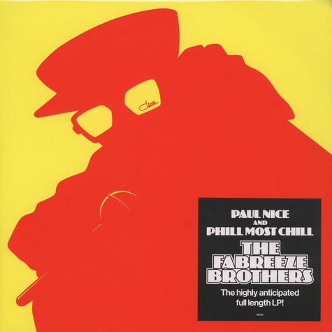 Fabreeze Brothers (Phill Most Chill & Paul Nice) - The Fabreeze Brothers Red / Yellow Vinyl Edition