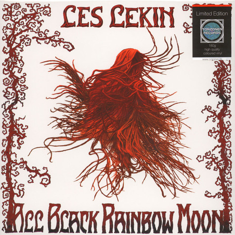 Les Lekin - All Black Rainbow Moon Red Vinyl Edition