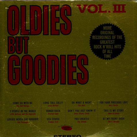 V.A. - Oldies But Goodies Vol. 3