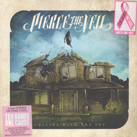 Pierce The Veil - Collide With The Sky  Pink Vinyl Edition
