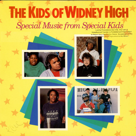 Kids Of Widney High, The - Special Music From Special Kids