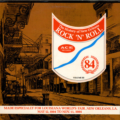 V.A. - The History Of New Orleans Rock `N`Roll Volume Three