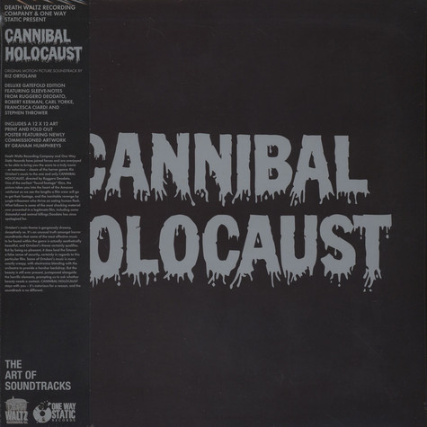 Riz Ortolani - OST Cannibal Holocaust Brown Olive Vinyl Edition