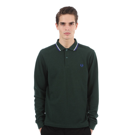 Fred Perry - Long Sleeve Twin Tipped Polo Shirt